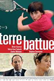 Valeria Bruni Tedeschi, Olivier Gourmet, and Charles Mérienne in Terre battue (2014)