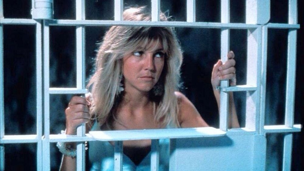 Heather Locklear in The Return of Swamp Thing (1989)