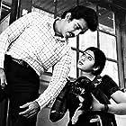 Sridevi and Kamal Haasan in Moondram Pirai (1982)