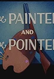 The Painter and the Pointer Poster