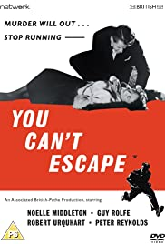 You Can't Escape Poster