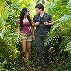 Vanessa Hudgens and Josh Hutcherson in Journey 2: The Mysterious Island (2012)
