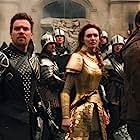 Ewan McGregor, Nicholas Hoult, Ian McShane, and Eleanor Tomlinson in Jack the Giant Slayer (2013)