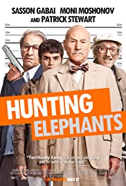 Hunting Elephants Poster