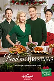 Chad Michael Murray, Jessy Schram, Cardi Wong, and Jeff Gonek in Road to Christmas (2018)
