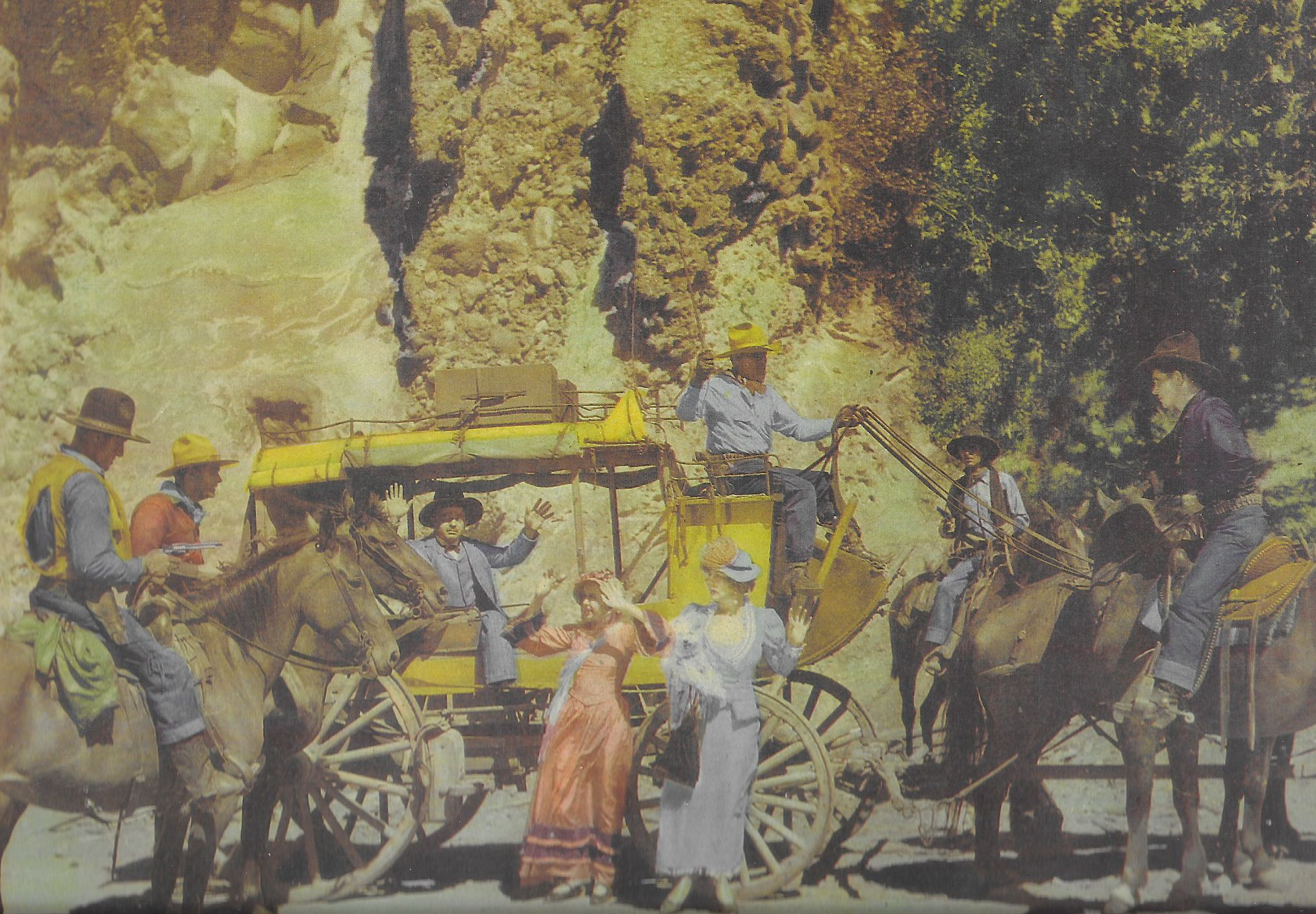 Ed Brady, Dorothy Dix, George 'Gabby' Hayes, Artie Ortego, and Bob Steele in The Nevada Buckaroo (1931)