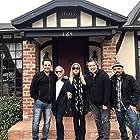 Evelyn Guerrero, Karen Klostermann, Kevin Derek, and Oscar Alvarez in More Than Miyagi: The Pat Morita Story (2021)