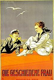Die geschiedene Frau Poster