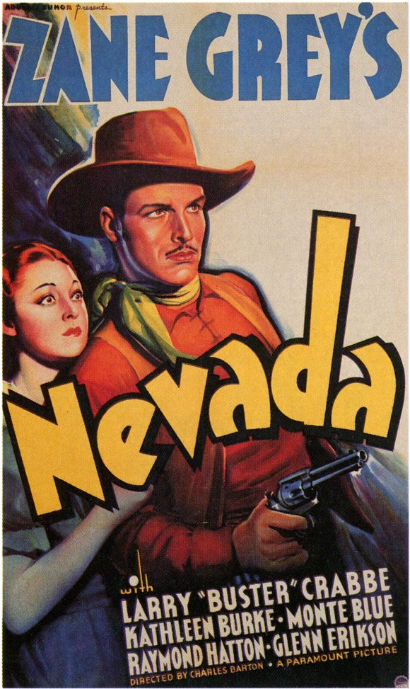 Kathleen Burke and Buster Crabbe in Nevada (1935)
