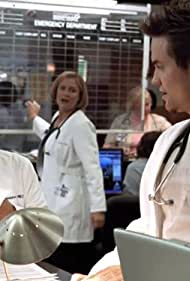 Maura Tierney, Sherry Stringfield, and Shane West in ER (1994)