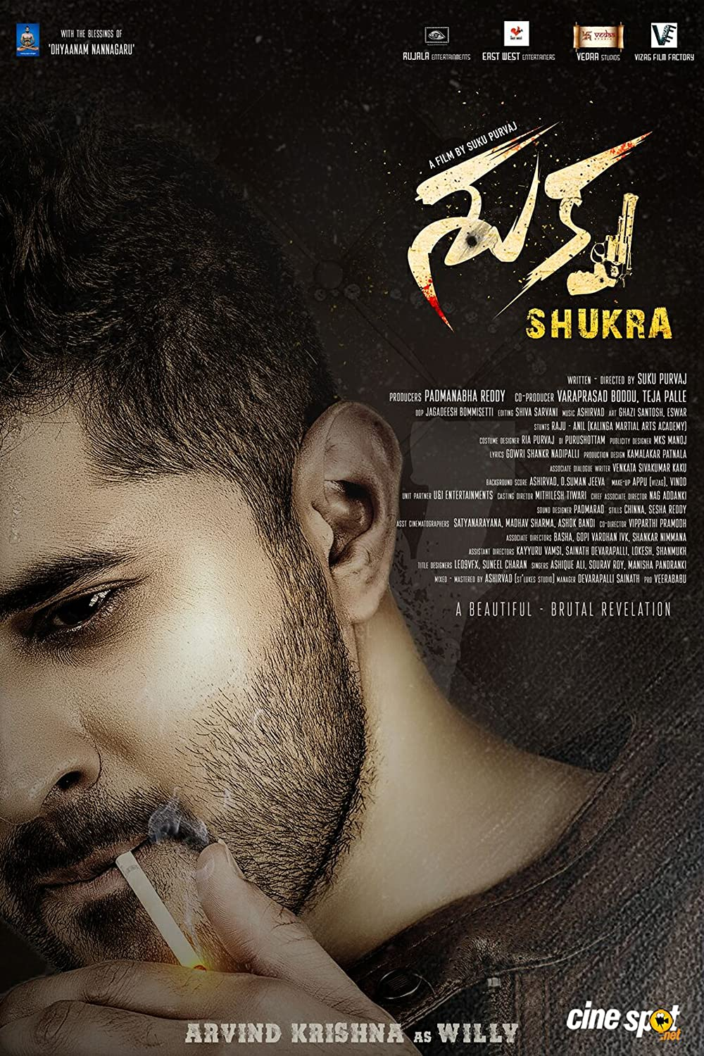 Shukra 2021 Telugu 720p HDRip ESub 800MB Download