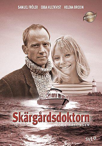 Samuel Fröler and Ebba Hultkvist in Skärgårdsdoktorn (1997)