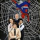 Ellen Bry, Chip Fields, Nicholas Hammond, and Robert F. Simon in The Amazing Spider-Man (1977)