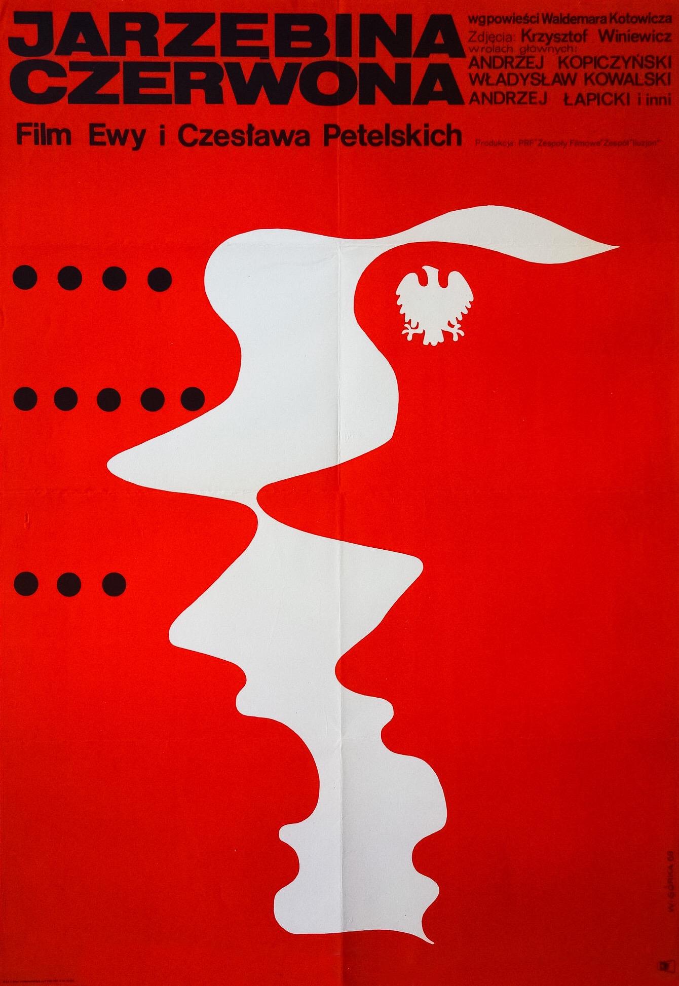 Ewa Petelska and Czeslaw Petelski in Jarzebina czerwona (1970)