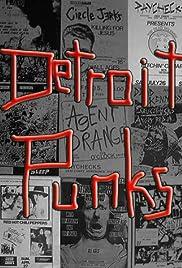 Detroit Punks Poster