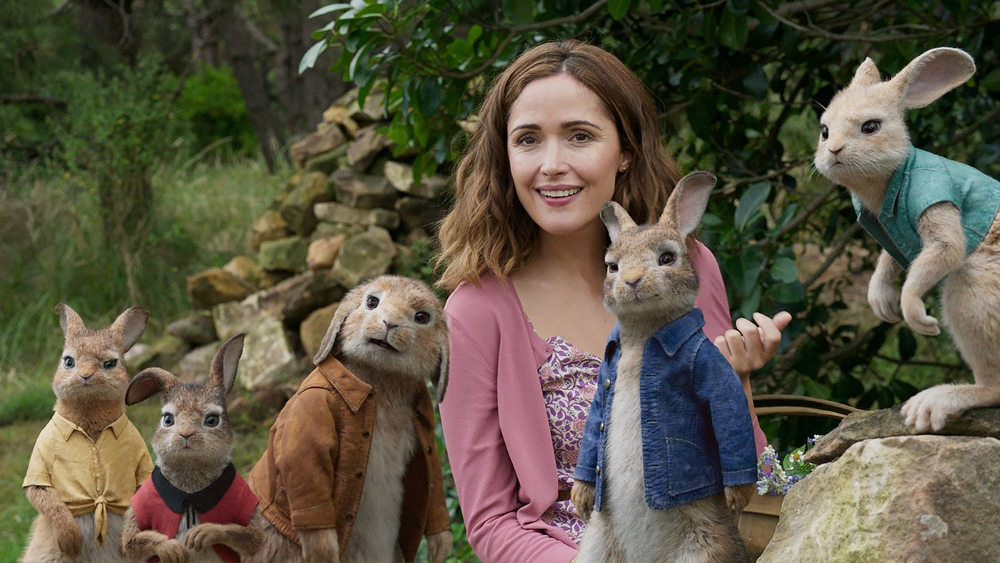 Rose Byrne in Peter Rabbit (2018)