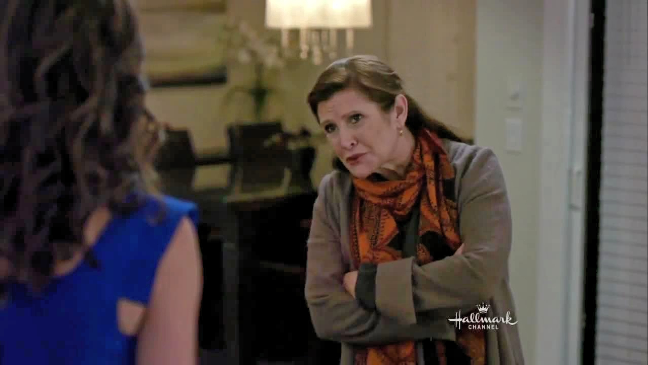 Carrie Fisher in It's Christmas, Carol! (2012)