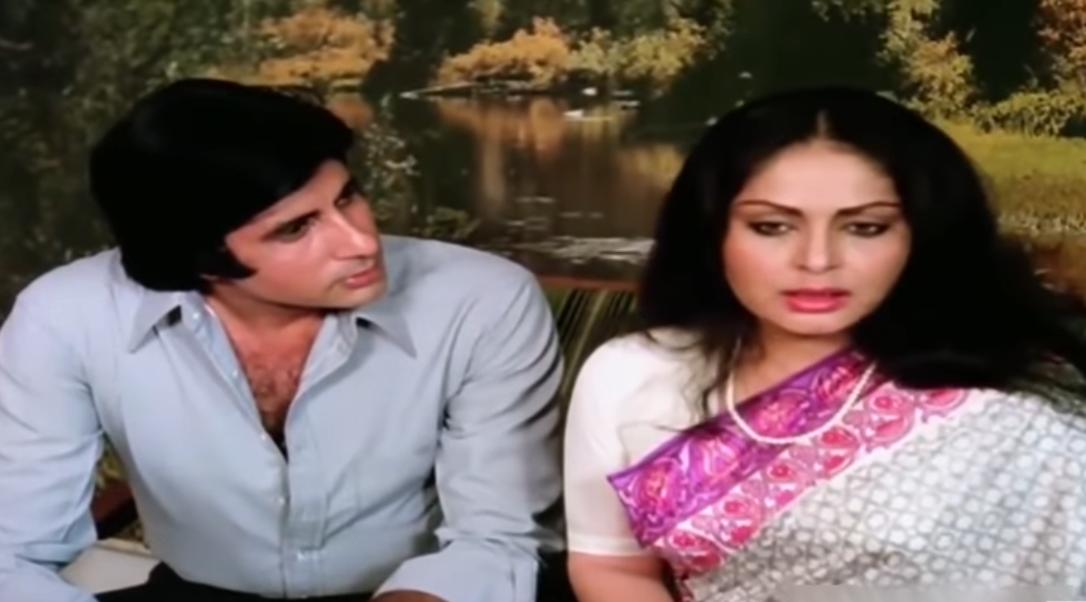 Amitabh Bachchan and Rakhee Gulzar in Bemisal (1982)