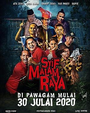 Syif Malam Raya film Poster