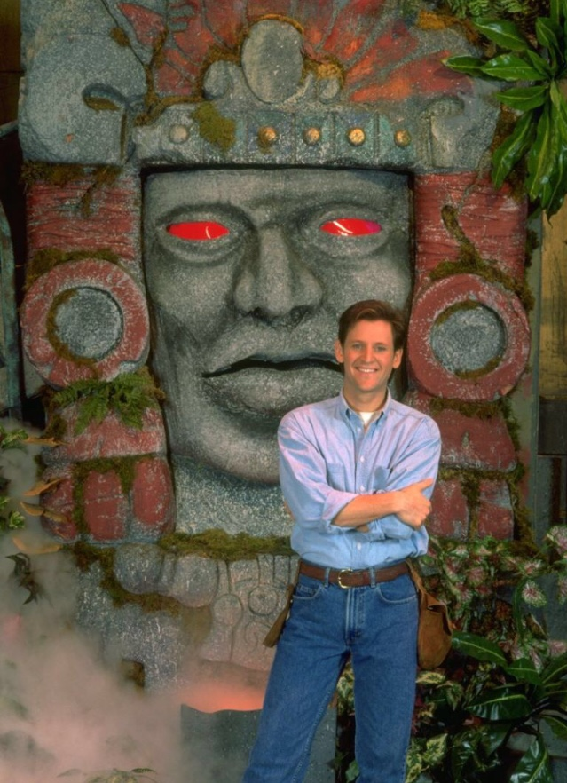 Kirk Fogg in Legends of the Hidden Temple (1993)