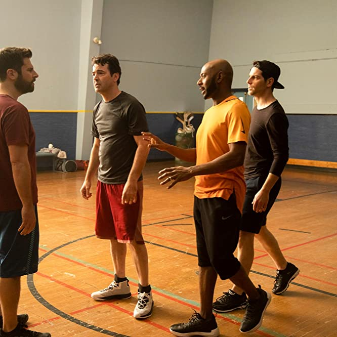 Ron Livingston, Romany Malco, James Roday, and David Giuntoli in A Million Little Things (2018)