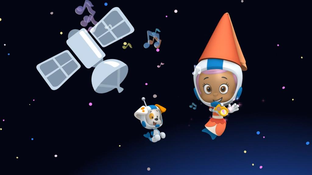 bubble guppies space guppies watch cartoon