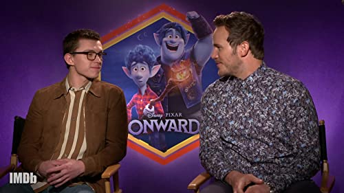 Tom Holland and Chris Pratt's Brotherly Love Is Real in 'Onward'