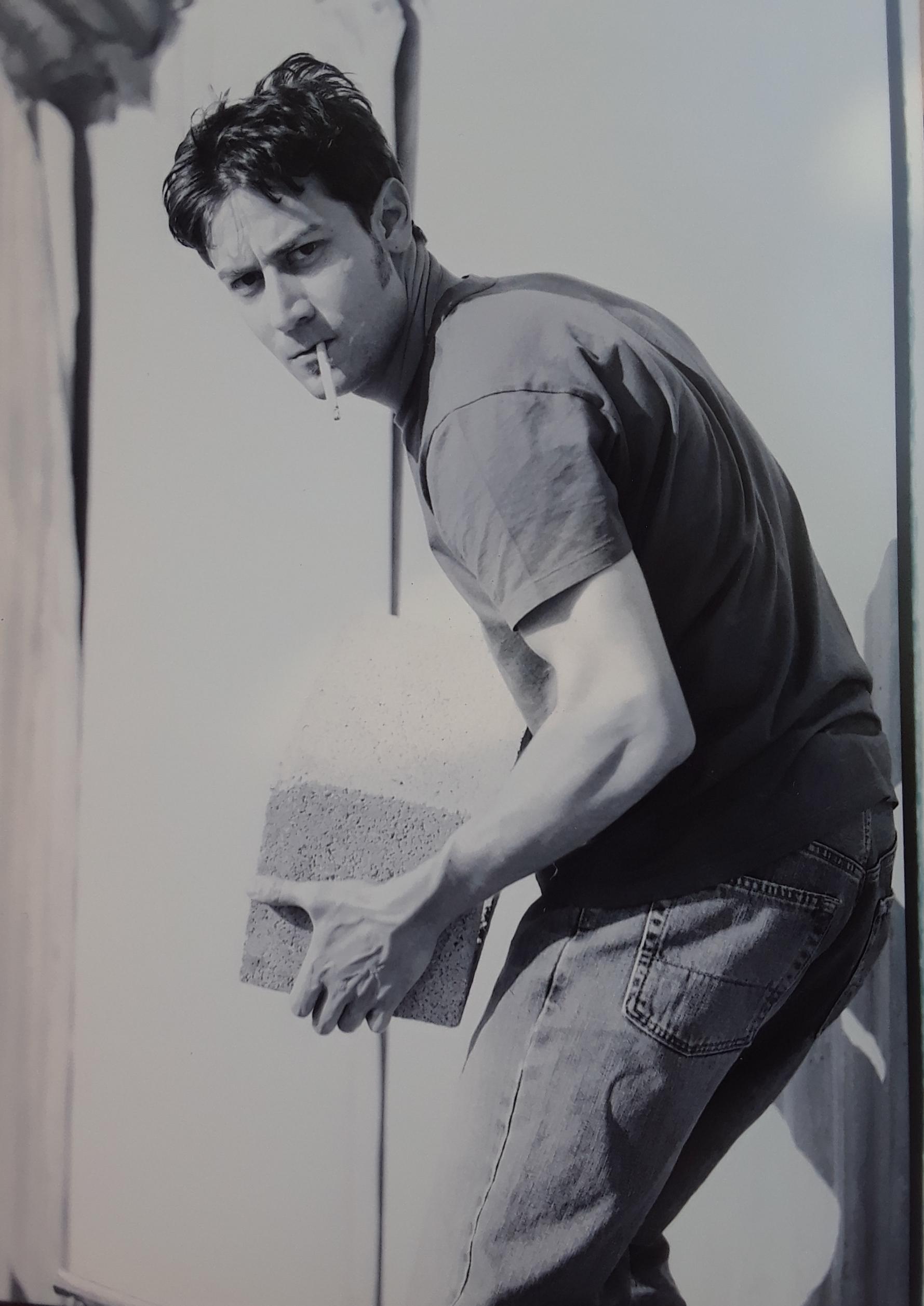 Goofin' around on a photo shoot, Hollywood, 2005
