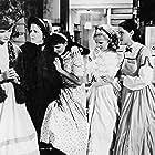 Katharine Hepburn, Joan Bennett, Spring Byington, Frances Dee, and Jean Parker in Little Women (1933)