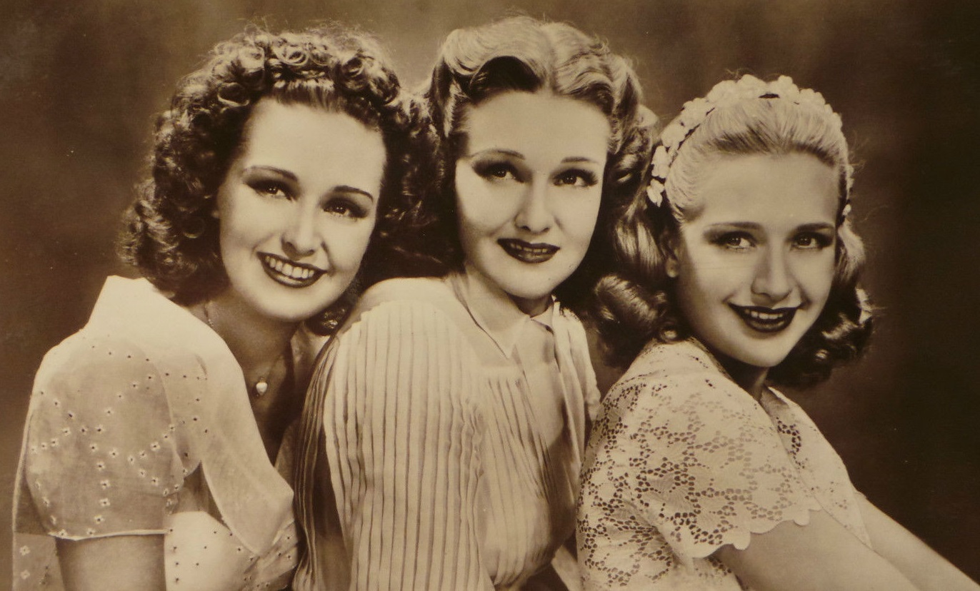Image result for lola, rosemary, and priscilla lane