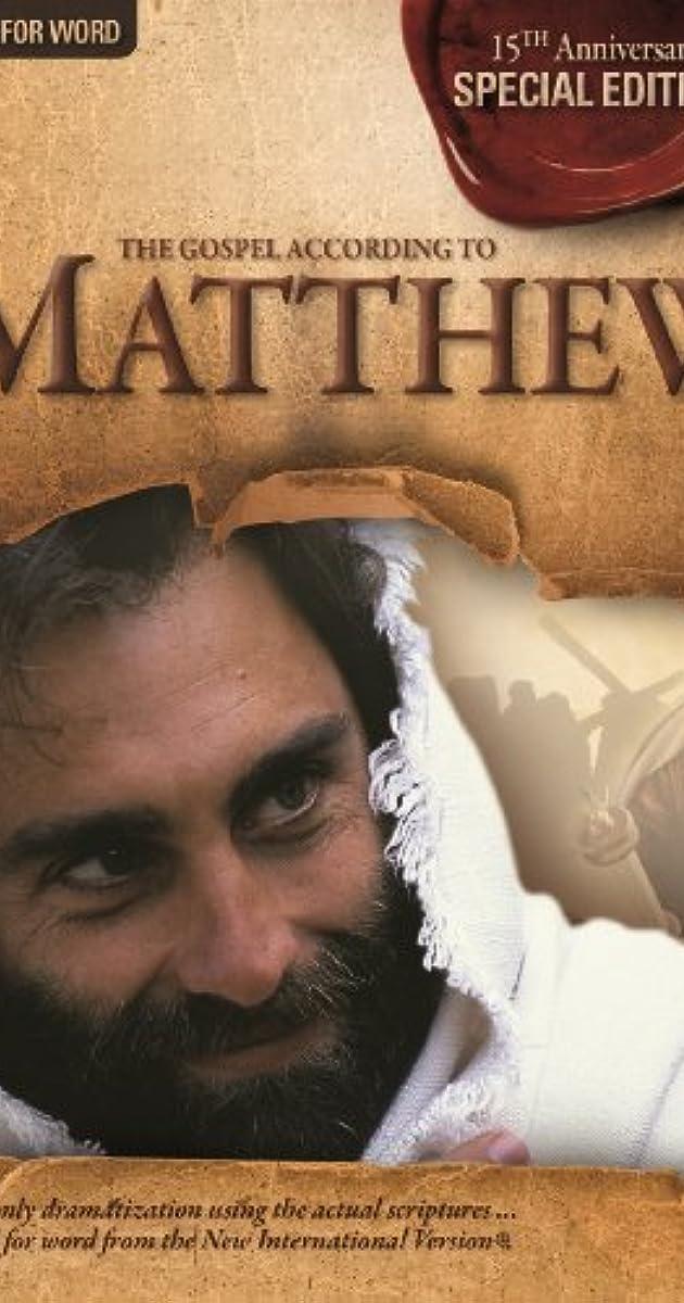 The Visual Bible: Matthew (1993) - IMDb