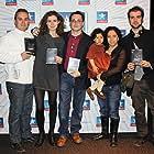 Rubén Trujillo Yranzo, Pedro Jaén R., Araceli Budía, Wilma Menelik, Paula Beatriz Menelik, and Gerard Rufi at an event for Salvación (2011)