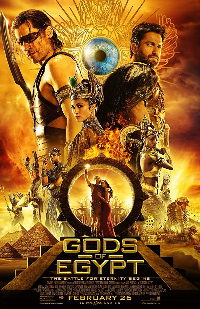 Gods of Egypt 2016 Hindi 400MB Full Movie Download BluRay (Hindi – English)