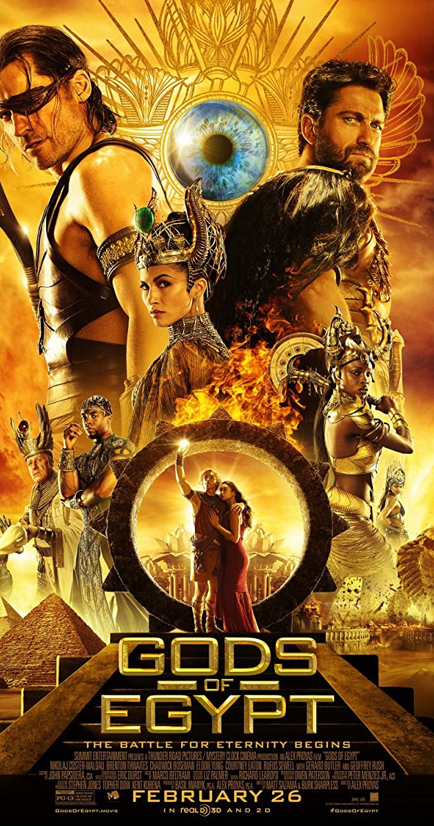 Subtitle of Gods of Egypt