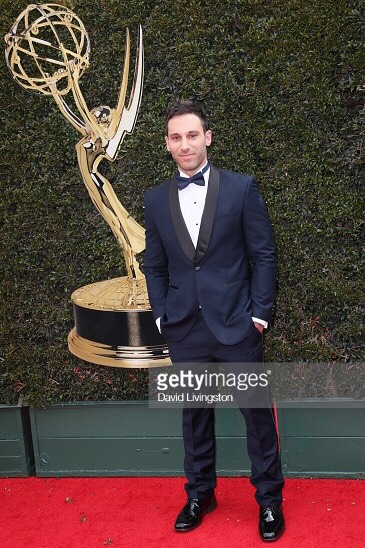 Jake Hunter attends the 45th annual Daytime Emmy Awards at Pasadena Civic Auditorium on April 29, 2018 in Pasadena, California.