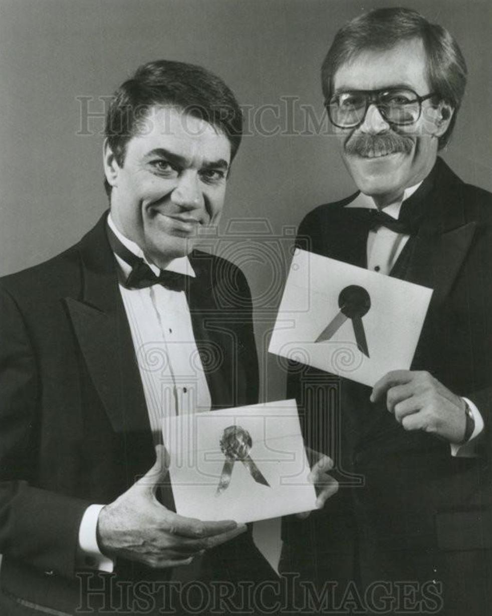 Bill Harris and Rex Reed