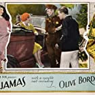 Olive Borden, Lawrence Gray, and Jerry Miley in Pajamas (1927)
