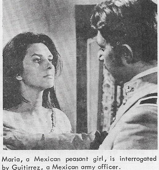 Carlo Alighiero and Daniela Giordano in Un esercito di 5 uomini (1969)