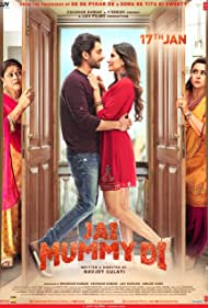 Poonam Dhillon, Supriya Pathak, Sunny Singh Nijjar, and Sonnalli Seygall in Jai Mummy Di (2020)