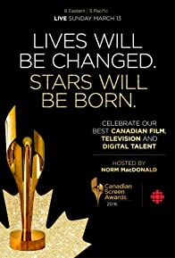 Primary photo for 2016 Canadian Screen Awards