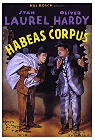 Oliver Hardy and Stan Laurel in Habeas Corpus (1928)