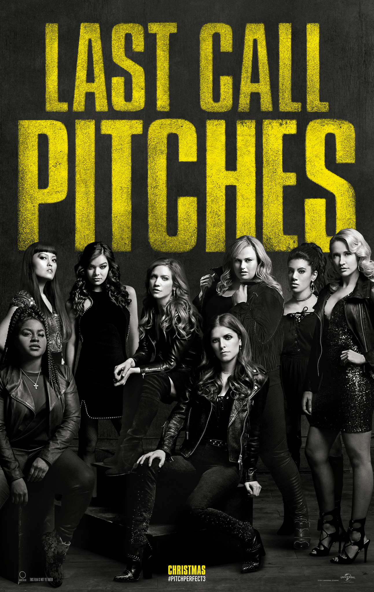 Anna Kendrick, Brittany Snow, Rebel Wilson, Anna Camp, Hana Mae Lee, Chrissie Fit, Hailee Steinfeld, Ester Dean, and Shelley Regner in Pitch Perfect 3 (2017)
