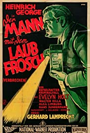 The Man with the Frog Poster