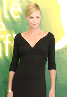 Charlize Theron at an event for The Curse of the Jade Scorpion (2001)