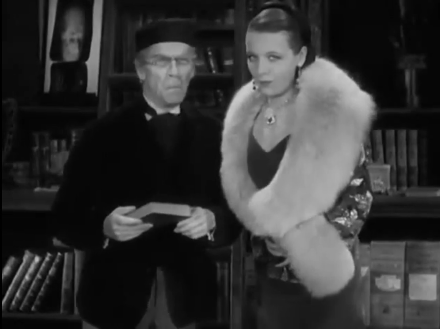 Rita La Roy and Ned Sparks in Conspiracy (1930)
