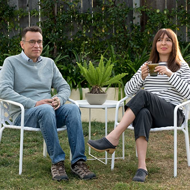 Fred Armisen and Maya Rudolph in Forever (2018)