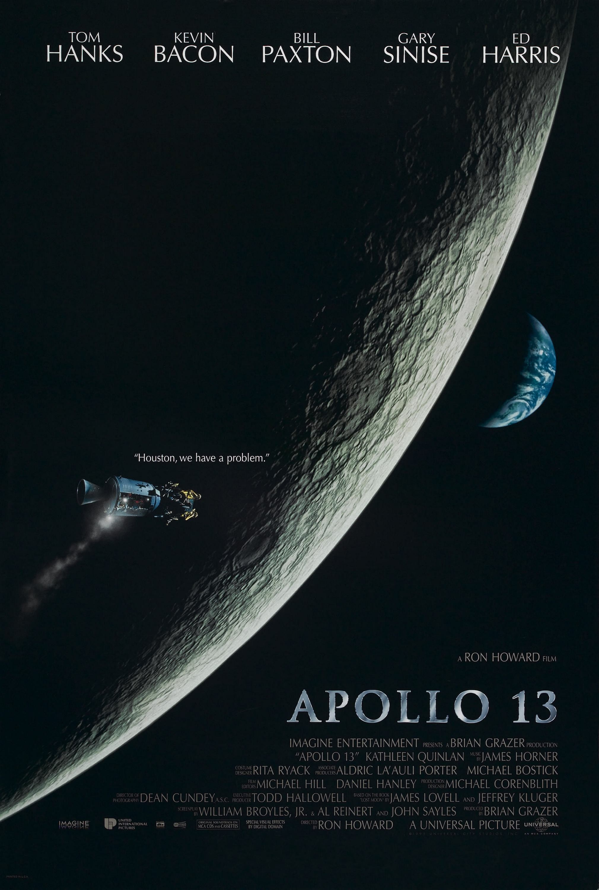 An image of the Apollo 13 Movie Cover