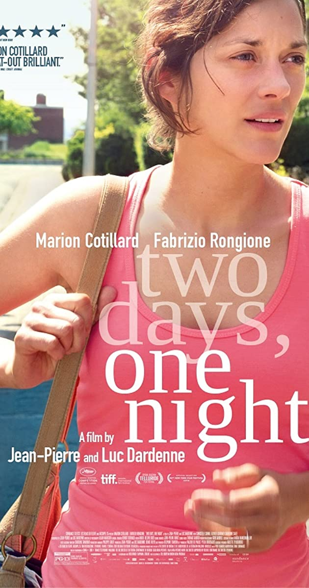 Two Days One Night 2014 Imdb