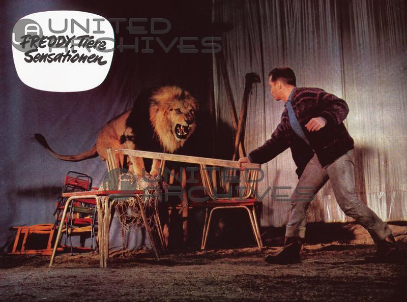 Freddy Quinn in Freddy, Tiere, Sensationen (1964)