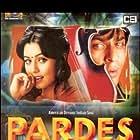Mahima Chaudhry and Shah Rukh Khan in Pardes (1997)